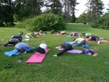 Poletna joga v naravi 2015