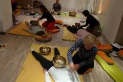 Šola tibetanskih posod Pot joge maj 2017