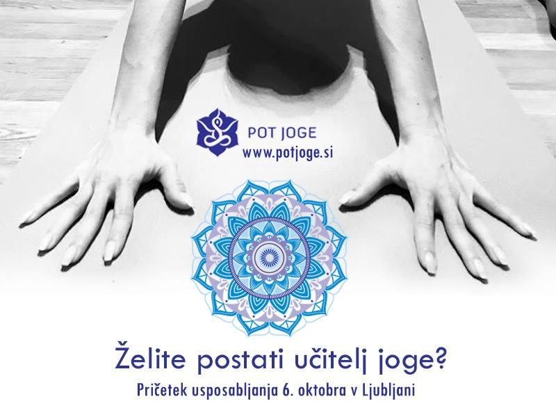Tečaj za učitelja joge 6. oktober 2018
