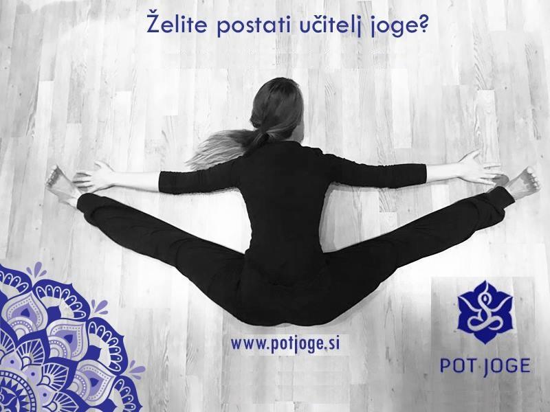 Učiteljski tečaj Pot joge 13. april 2019