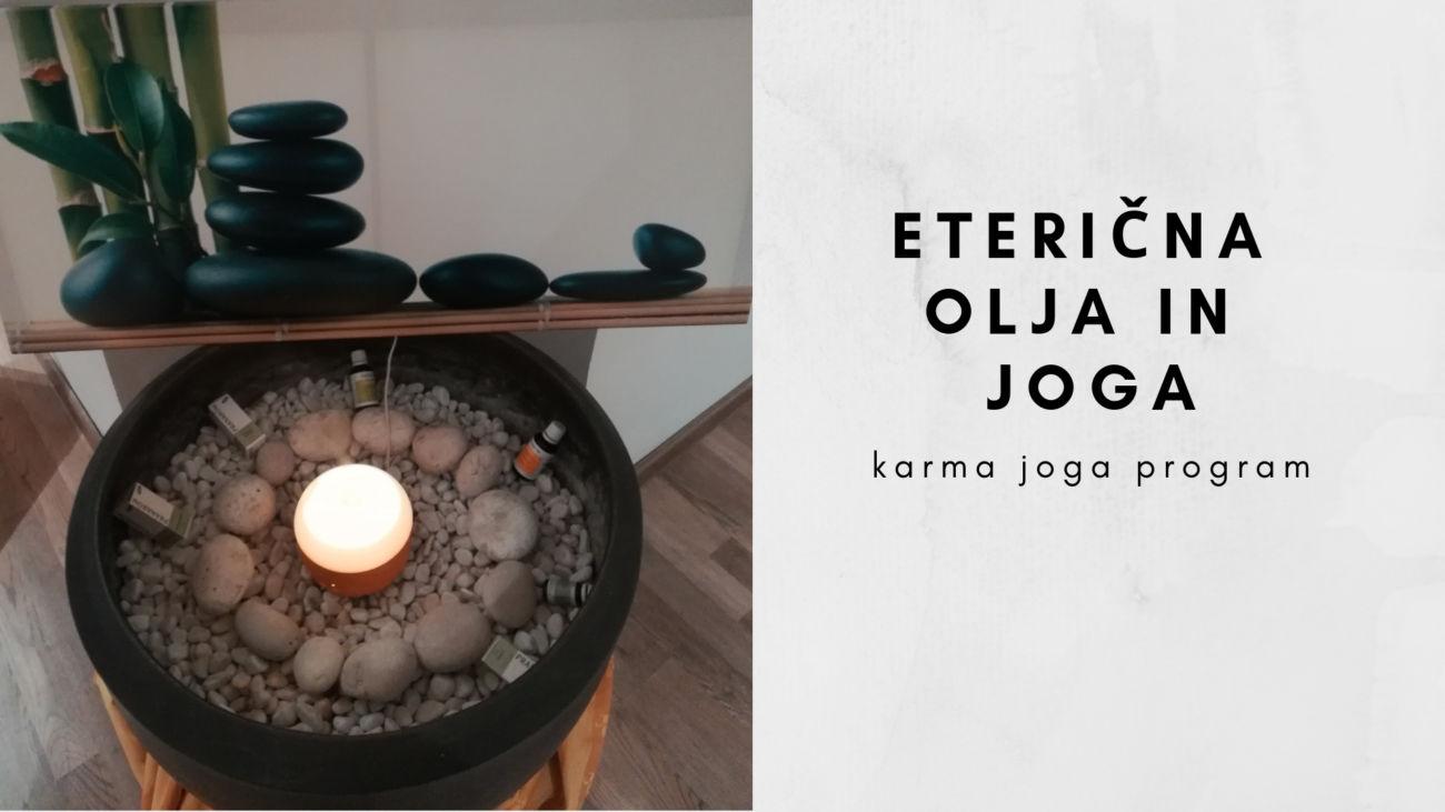 Eterična olja in joga (petek, 8.3.)