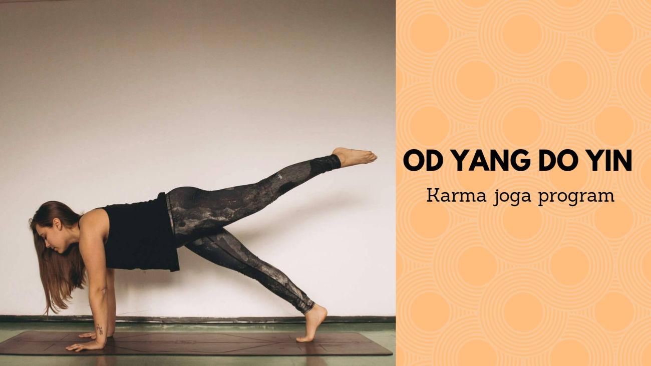 Karma joga: Od Yang do Yin (petek, 15.3.)